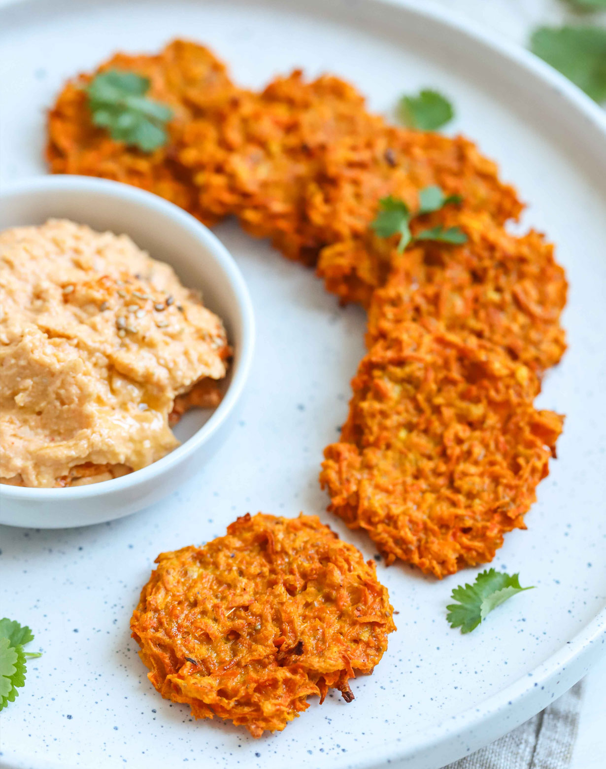 carrot fritters recipe