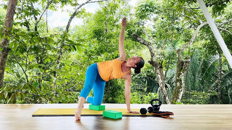 yoga block workouts