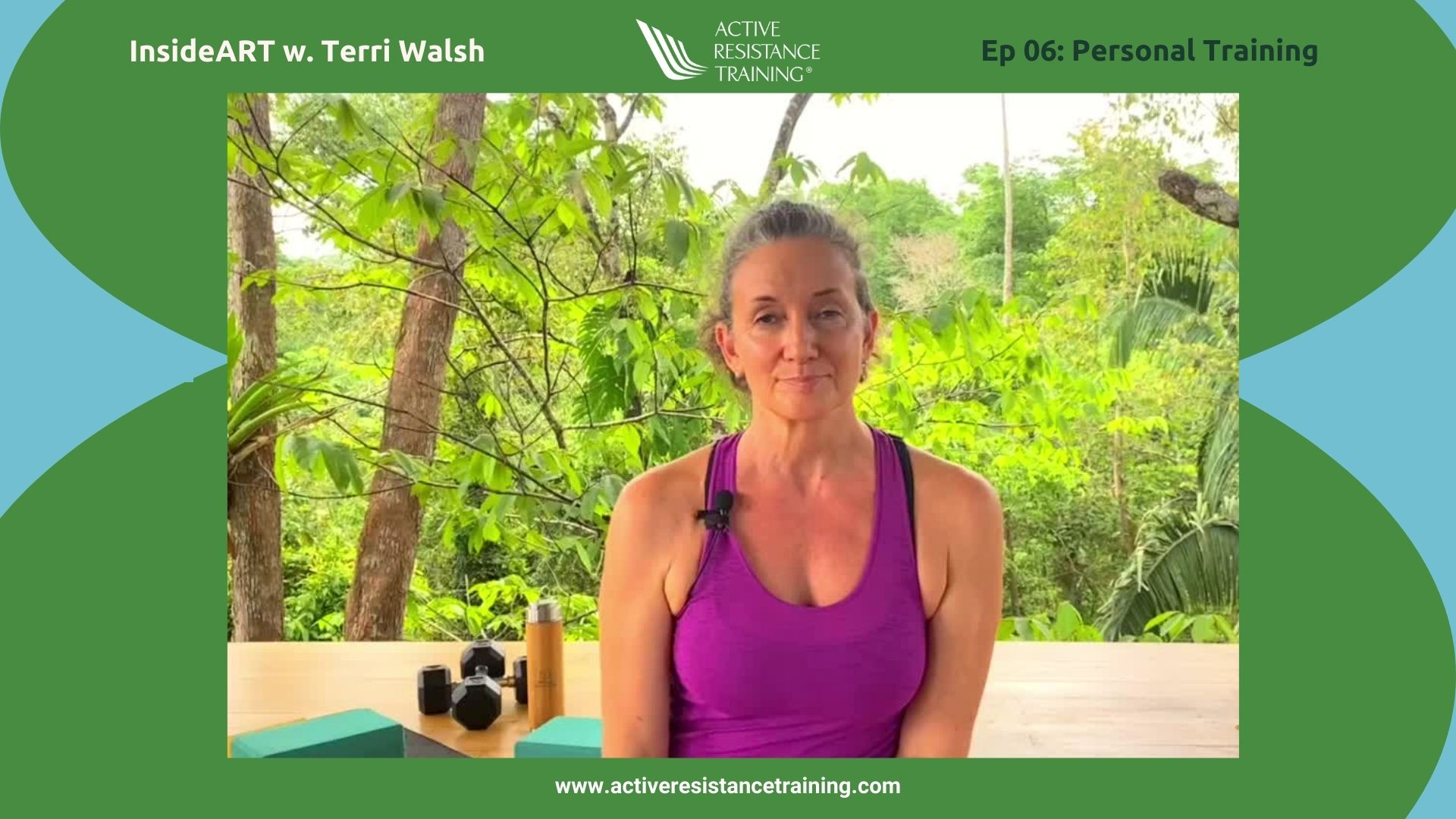 INSIDEART: personal training with terri walsh